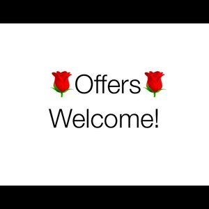 All offers considered :)